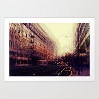 london Art Prints featuring London by Ingrid Beddoes