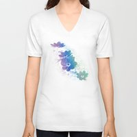 Rainbow Cosmos Unisex V-Neck