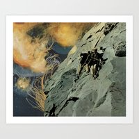 Heights (with David Delr… Art Print