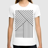 stripes T-shirts featuring Stripes by elena + stephann