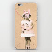 Imaginary Friends- Bunny iPhone & iPod Skin
