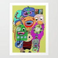 The World is Yours. Art Print