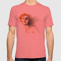 Lady Autumn Mens Fitted Tee Pomegranate SMALL