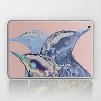 Digital Watercolor Birds Laptop & iPad Skin