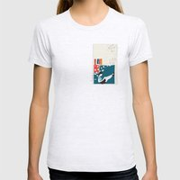 Papers Womens Fitted Tee Ash Grey SMALL