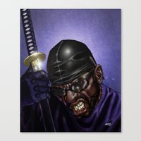 WU-Swordsman Canvas Print