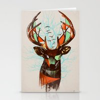 Trapped Stationery Cards