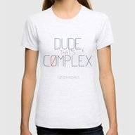 That's Complex - Cosima … Womens Fitted Tee Ash Grey SMALL