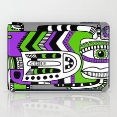 green eye iPad Case