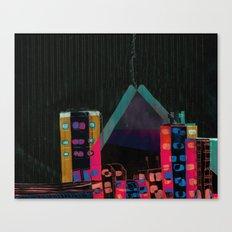 } : -) Canvas Print