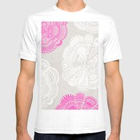 Doodle Doiley Mens Fitted Tee White SMALL