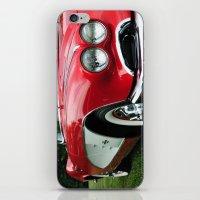 Red Corvette iPhone & iPod Skin