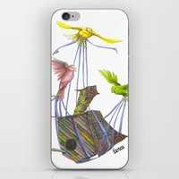 Fly Away Home iPhone & iPod Skin
