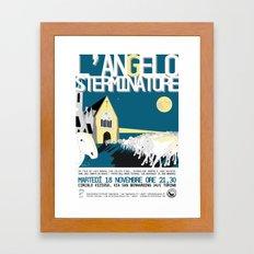 The exterminating angel Framed Art Print