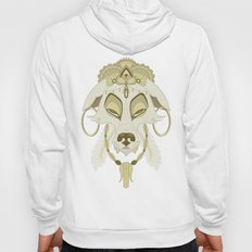 Canis Lupus: White Hoody