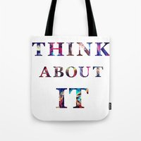 Space: Think About It Tote Bag