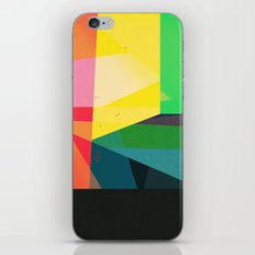Colors with Black iPhone & iPod Skin