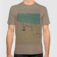 Longing Mens Fitted Tee Tri-Coffee SMALL