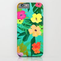 BLUSH TROPIC iPhone 6 Slim Case