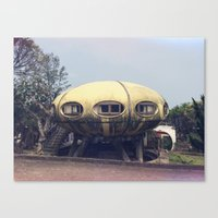 Futuro House Canvas Print
