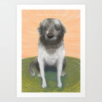 Sunbeam Art Print