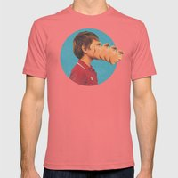 Sutphin Boulevard Mens Fitted Tee Pomegranate SMALL