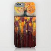 Tree In Autumn Landscape… iPhone 6 Slim Case