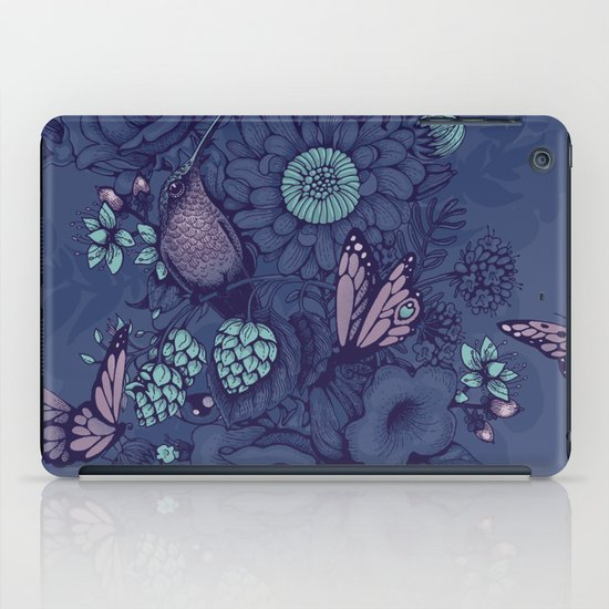 Beauty (eye of the beholder) - neon version iPad Case