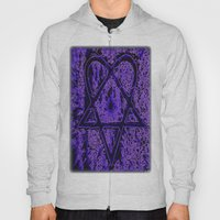 Violet Thoughts - Hearta… Hoody