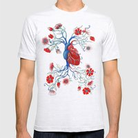 Romantic Anatomy Mens Fitted Tee Ash Grey SMALL
