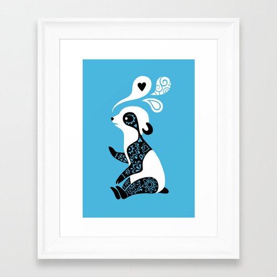 Panda 3 Framed Art Print