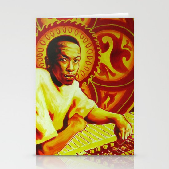 Dr. Dre Stationery Card
