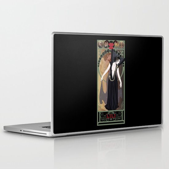 Dark Lili Nouveau - Legend Laptop & iPad Skin