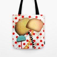 Mushrooms In Wonderland Tote Bag