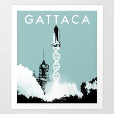 Gattaca - Movie Poster Art Print