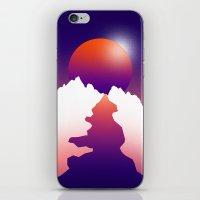 Spilt Moon iPhone & iPod Skin