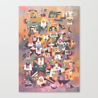 Schema 13 Canvas Print