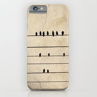 iPhone & iPod Case featuring Gang Of Crows by GetNaked