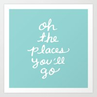The Places Art Print