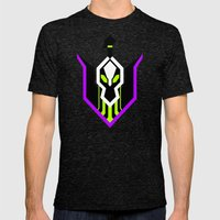 Rubick  Mens Fitted Tee Tri-Black SMALL