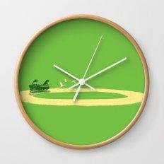 Long Journey Wall Clock