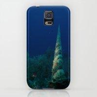 Galaxy S5 Cases featuring Mooring Line by Aqua Bear
