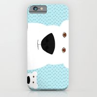 iPhone & iPod Case featuring Winter - Polar Bear 2 by Verene Krydsby