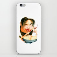 Wine Snob No.4 iPhone & iPod Skin
