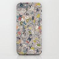 A1B2C3 clay iPhone 6 Slim Case