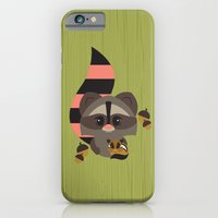 Raccoon & Chipmunk iPhone 6 Slim Case