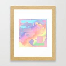 Culture Clash Framed Art Print