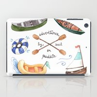 Adventures By Sail Or Pa… iPad Case