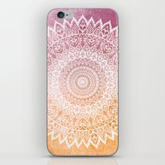 SUMMER LEAVES MANDALA iPhone & iPod Skin