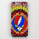Grateful Dead #8 Optical Illusion Psychedelic Design iPhone & iPod Skin